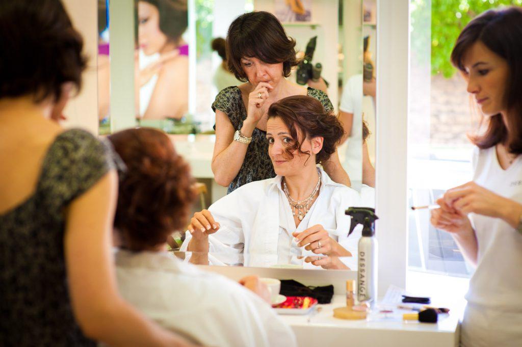 coiffeuse de mariage