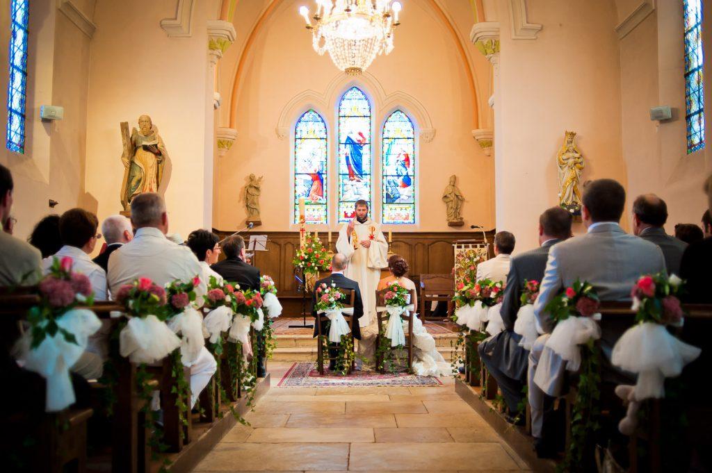 église mariés