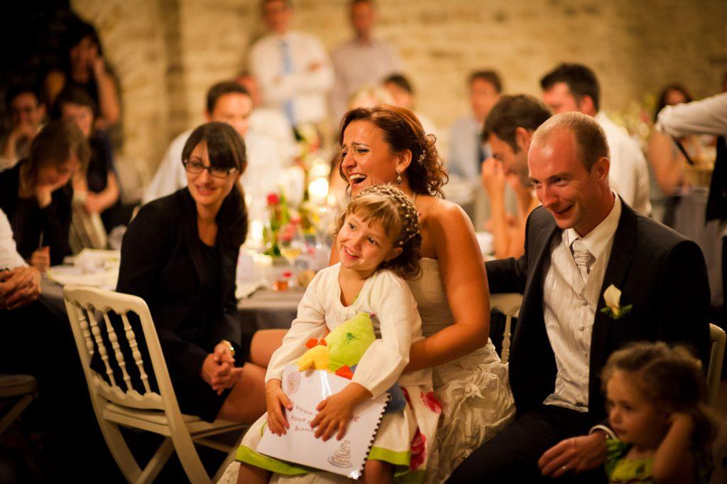 surprise soirée mariage