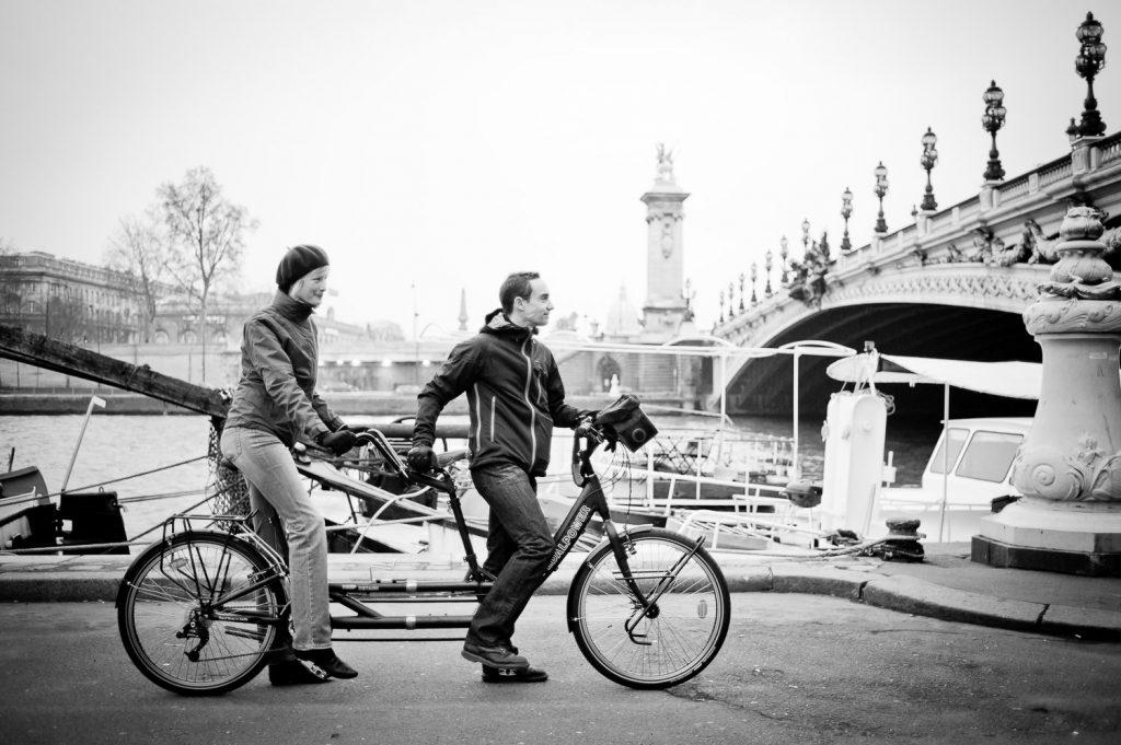 Tandem vélo Seine