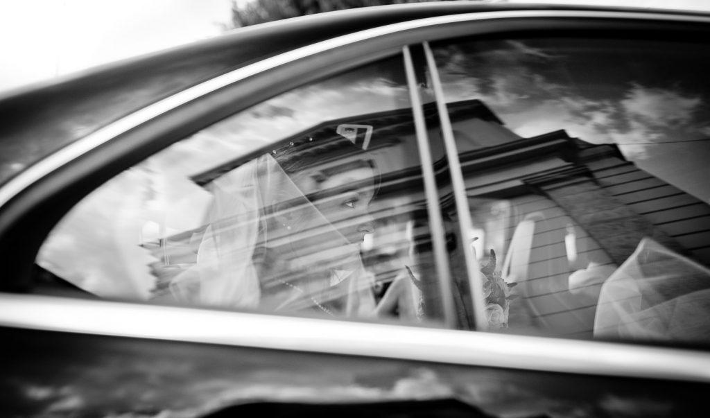 mariée voiture