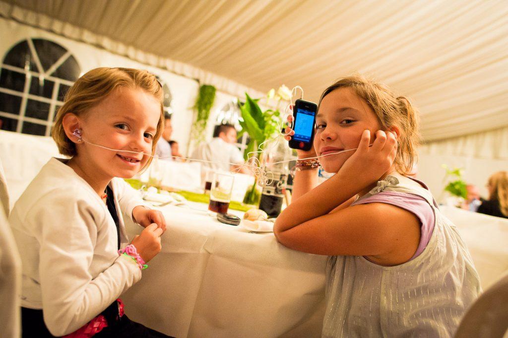 enfants soirée mariage