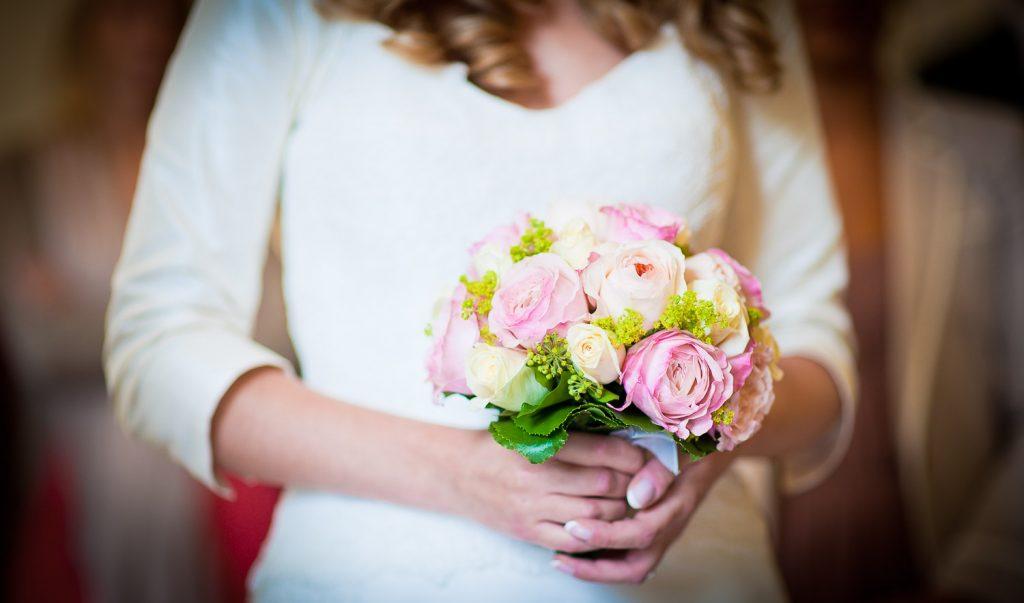 petit bouquet mariée