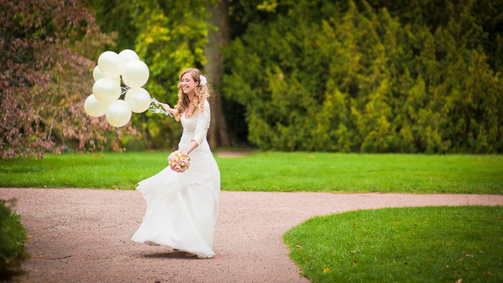 ballons photos couple mariage