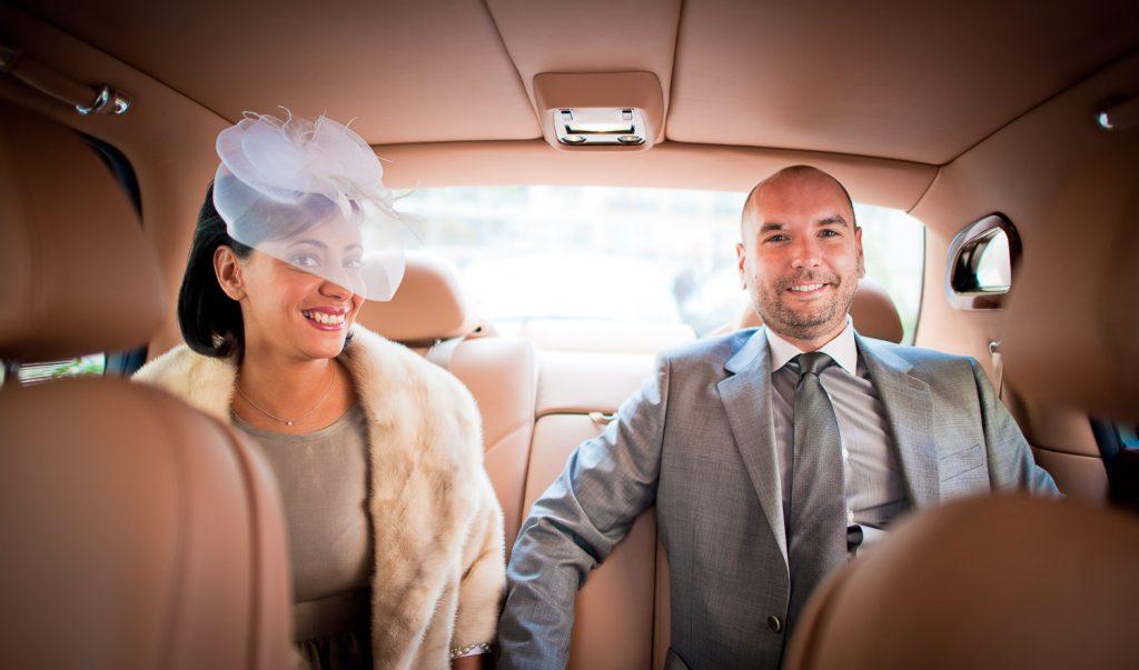 intérieur Bentley mariage