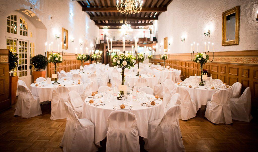Salle mariage manoir du Tronchet