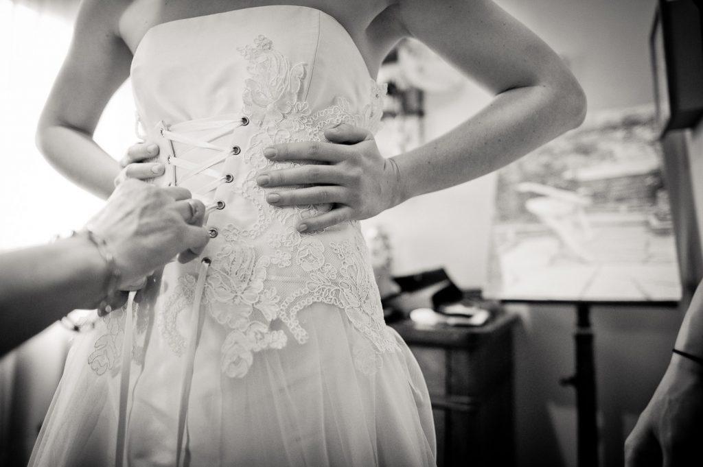 préparation robe
