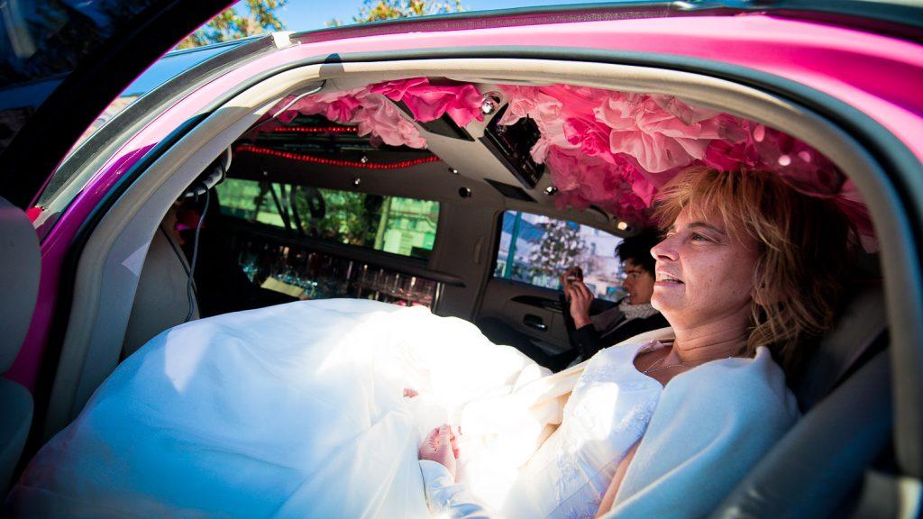 mariée limousine