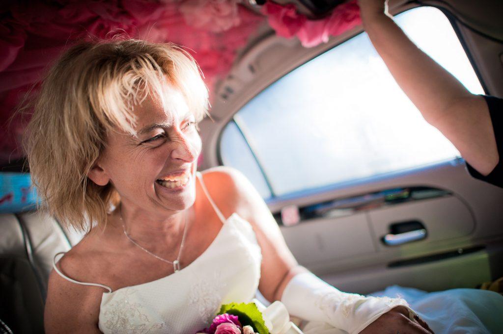 Ambiance limousine mariage
