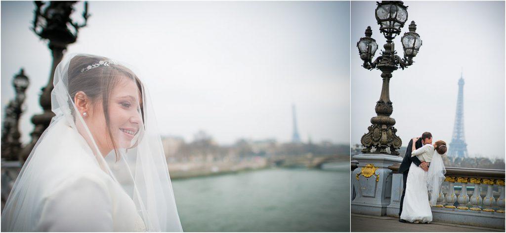 Pont des Invalides mariage