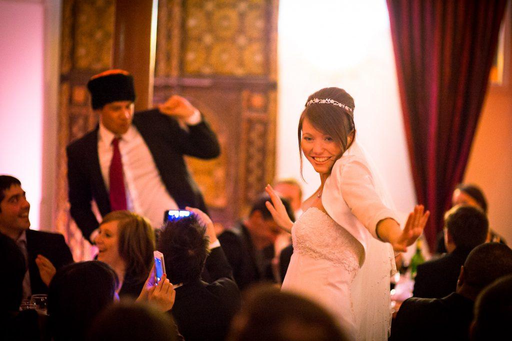 Entrée mariés Raspoutine