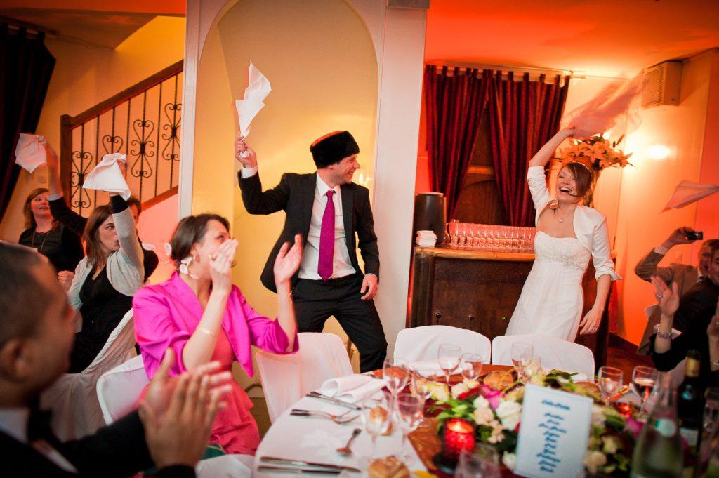 Entrée mariés dynamique