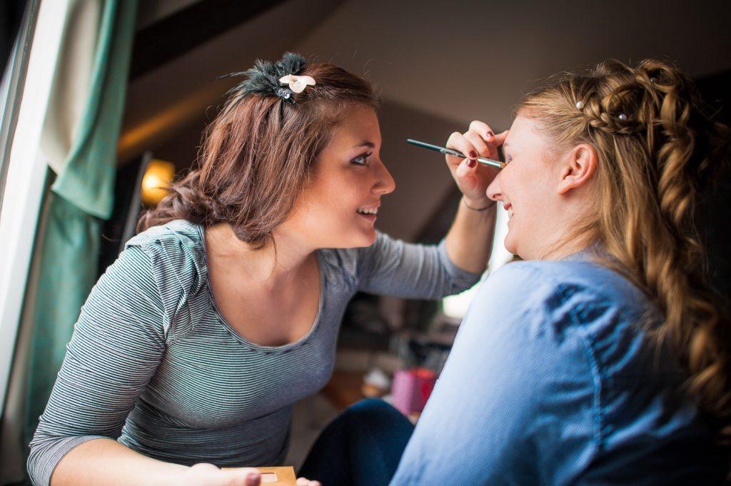 maquillage mariage hôtel