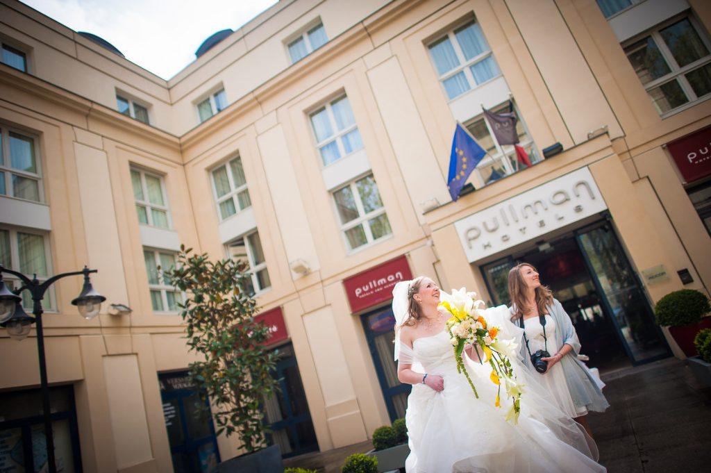 mariage hôtel Pullman Versailles
