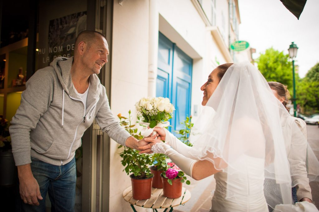 bouquet mariage blanc