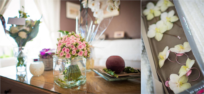 bouquet mariée petites roses