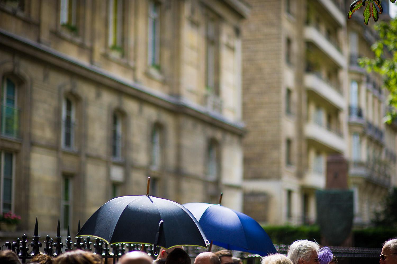 mariage sous pluie
