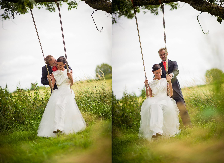 balançoire mariage