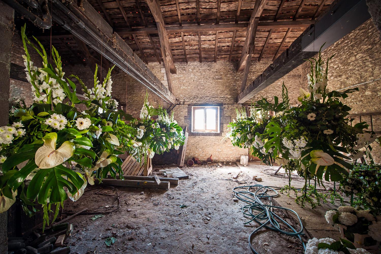 fleurs mariage grandiose
