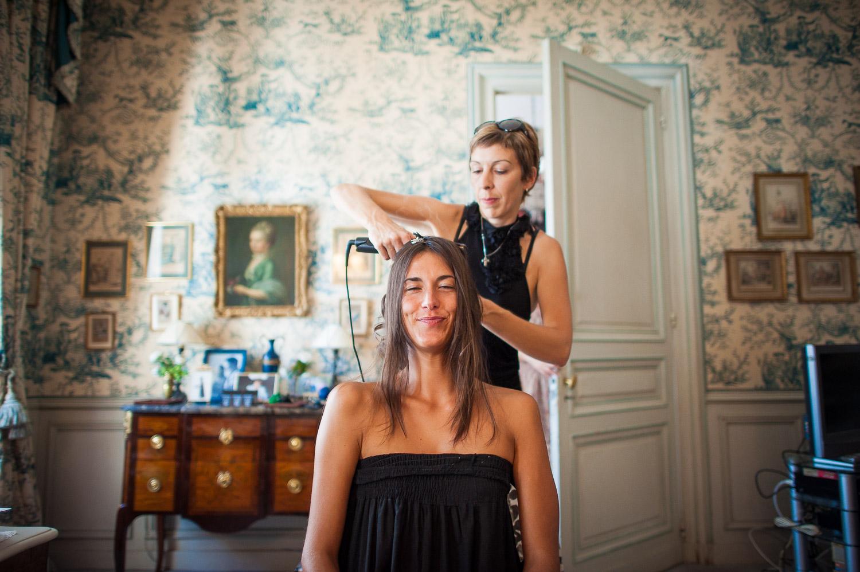 coiffure mariée domicile