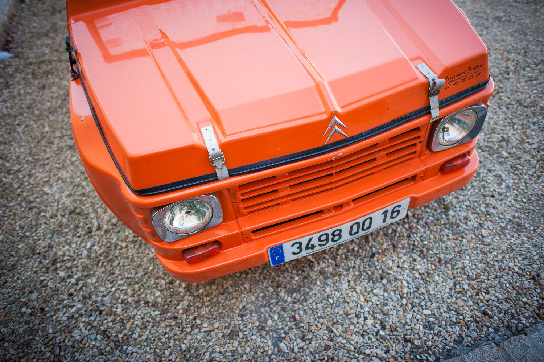 Méhari orange