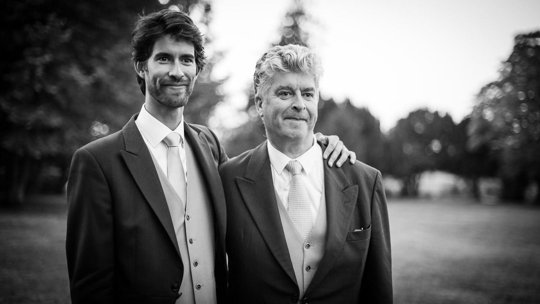 père et fils mariage