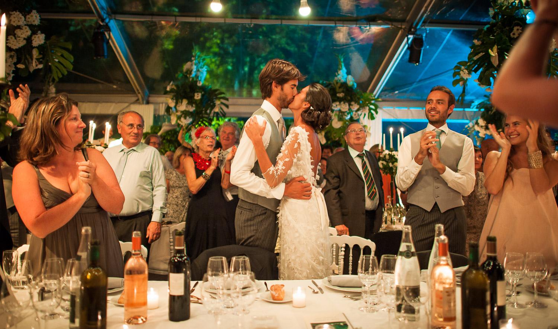 mariage soirée tente cristal