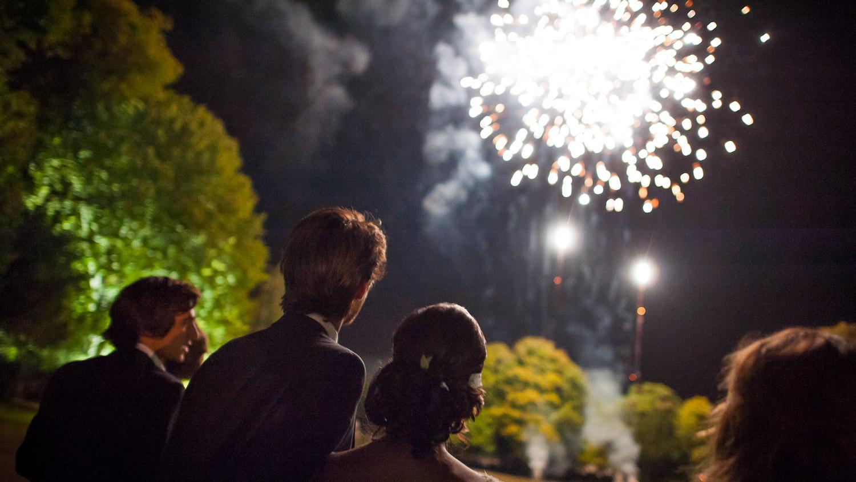 feu artifice mariage