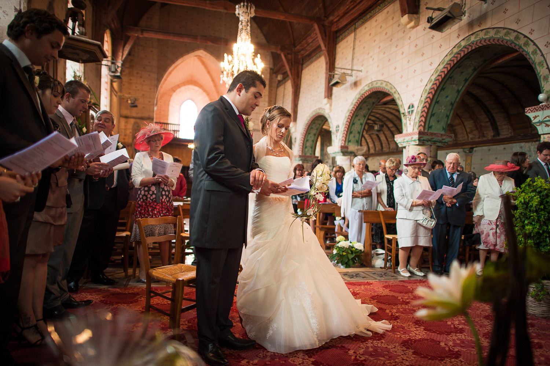église hanches mariage