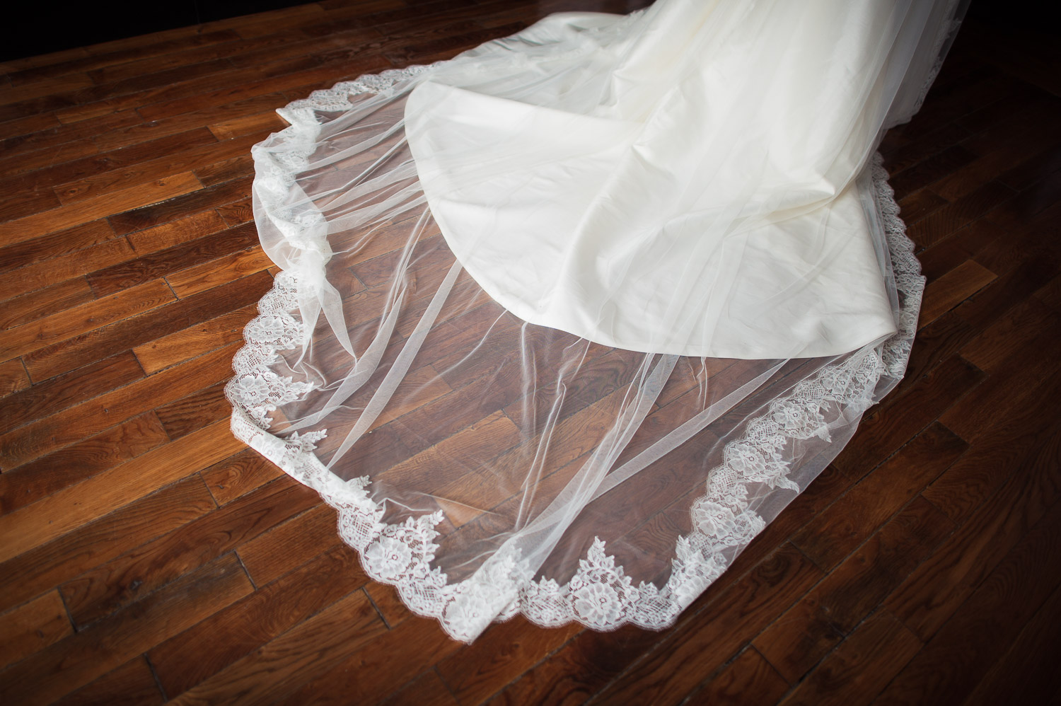 long voile mariage