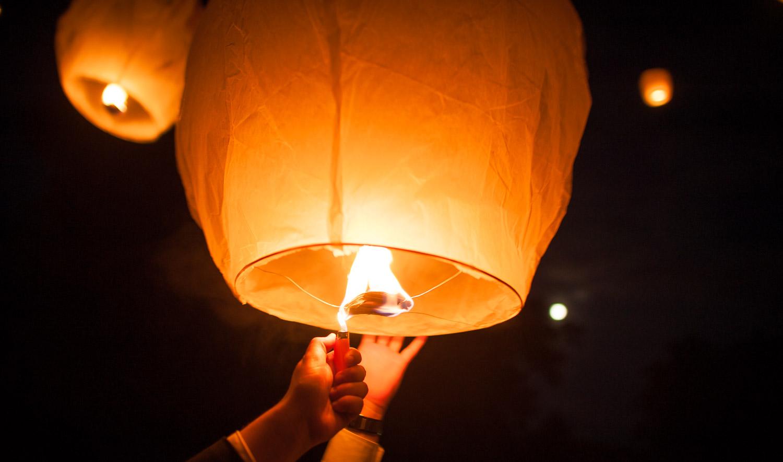 sky lanterne mariage