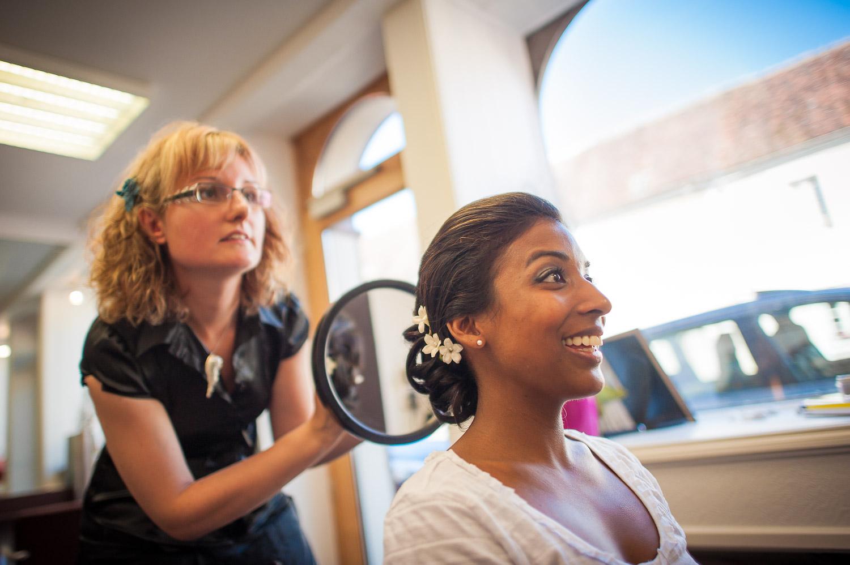 mariée salon coiffure