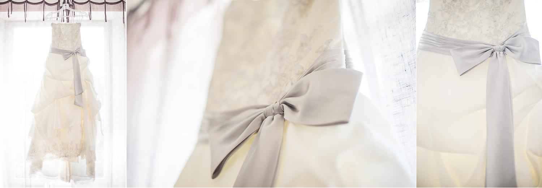 Robe avec noeud