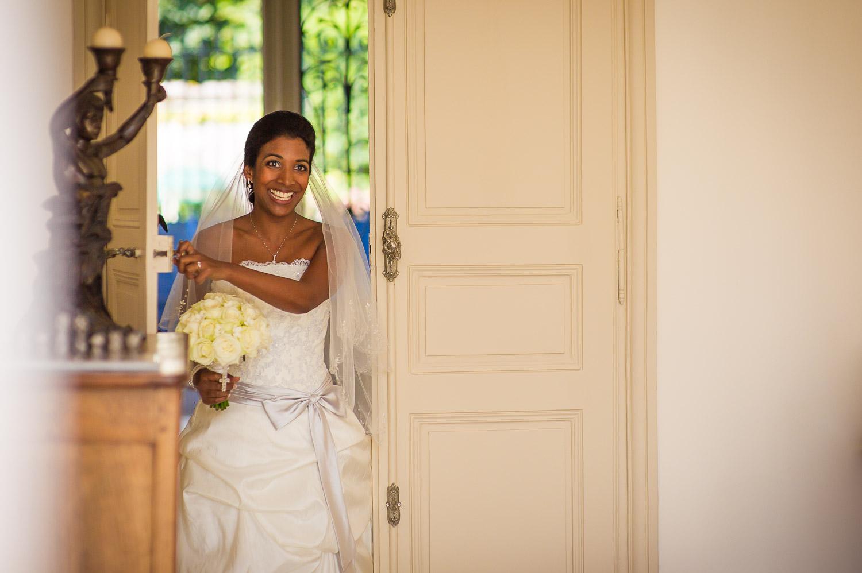 Arrivée mariée première rencontre