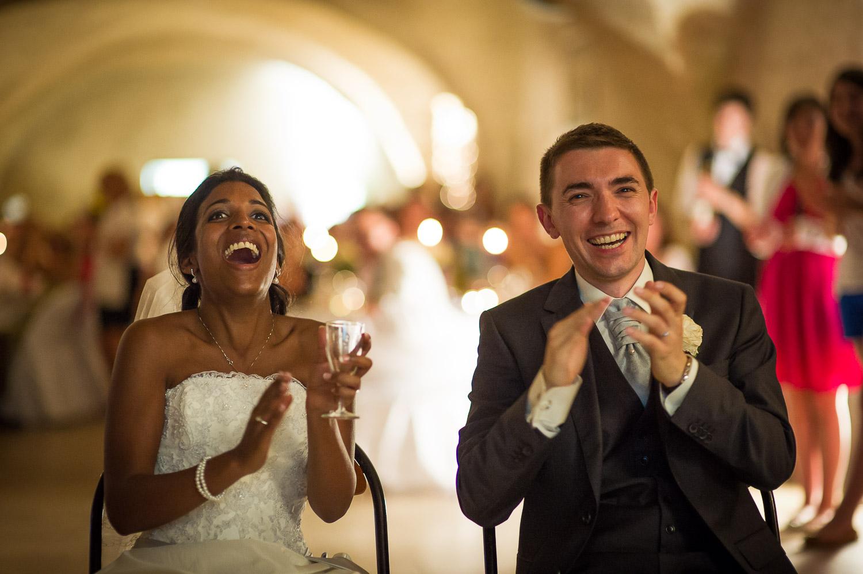 surprise mariés