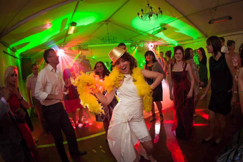 mariée piste danse
