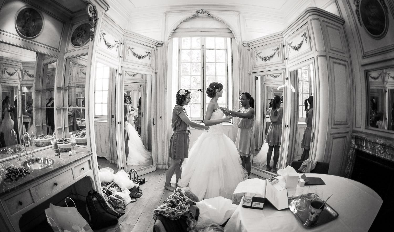 mariage boudoir chateau de Méry