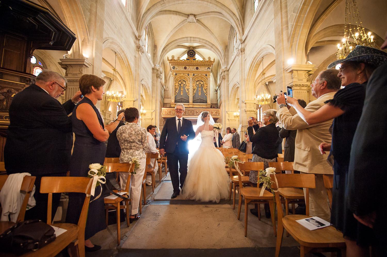 mariage église rueil malmaison