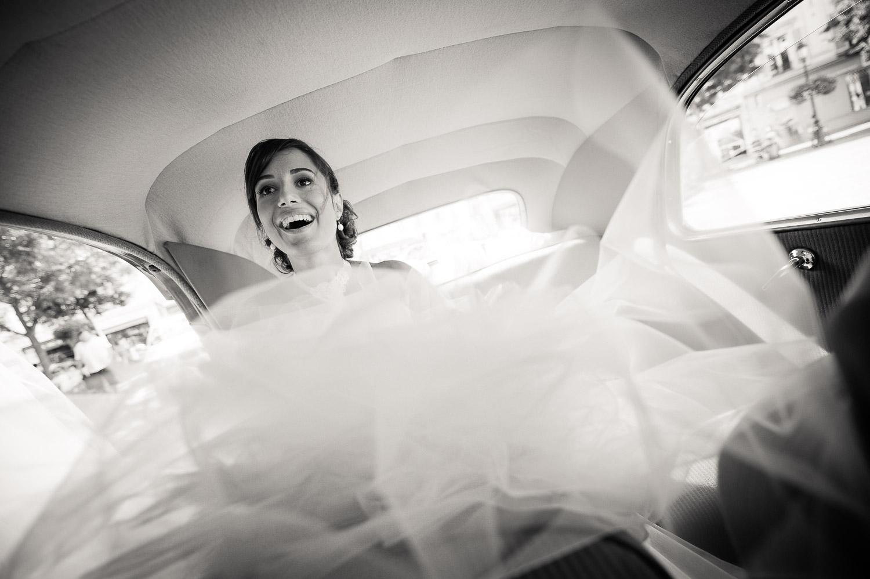 mariée traction citroën