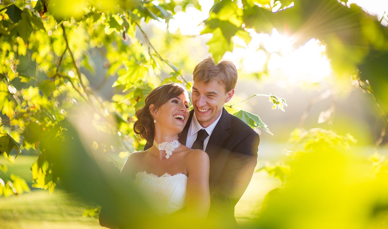 marié et lumière