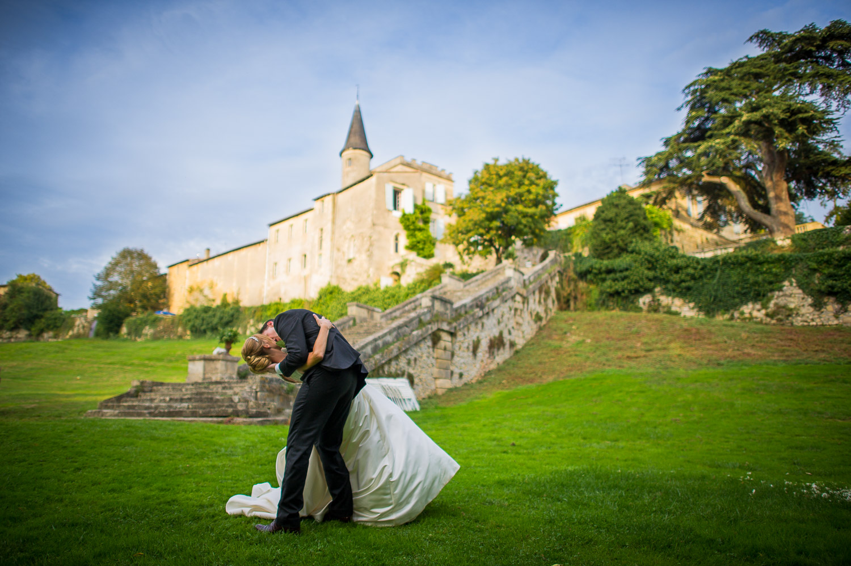 mariage chateau Lagorce Haux