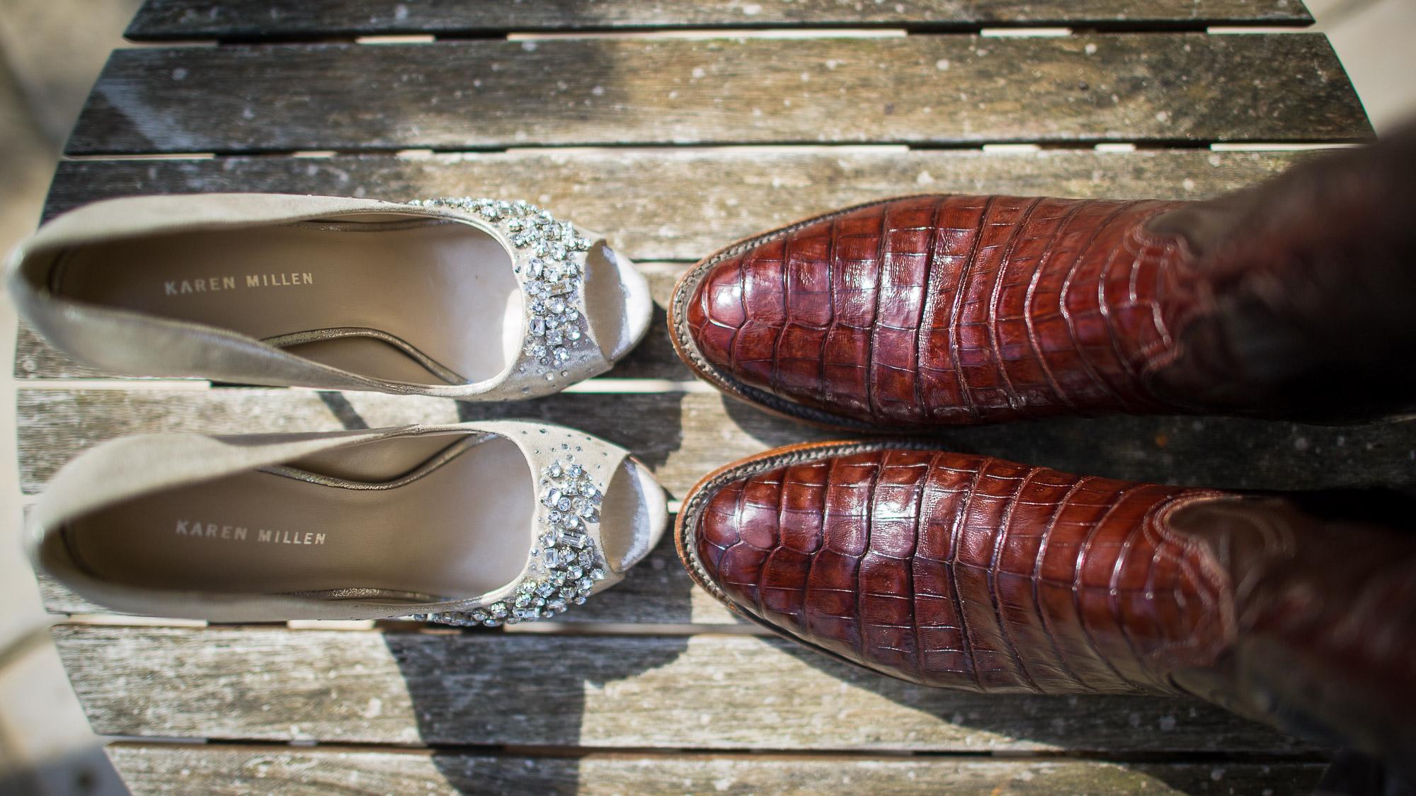 Chaussures marié originales