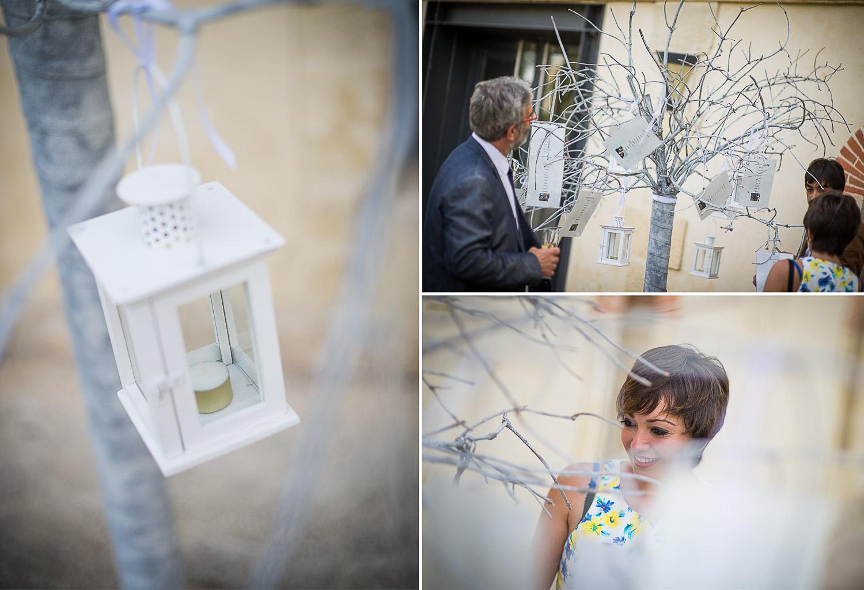 décoration arbre mariage