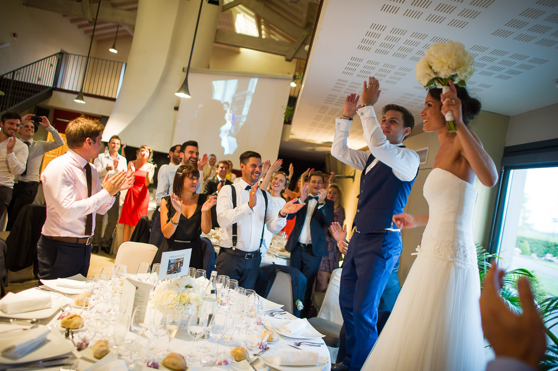 Soirée mariage château Grattequina