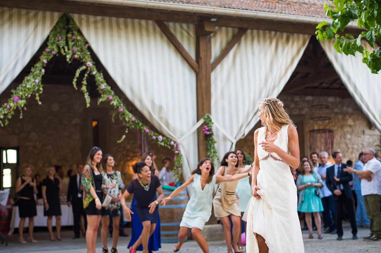 Bouquet mariée Pech-Celeyran