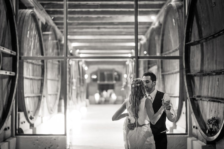 Première danse mariage Pech Celeyran