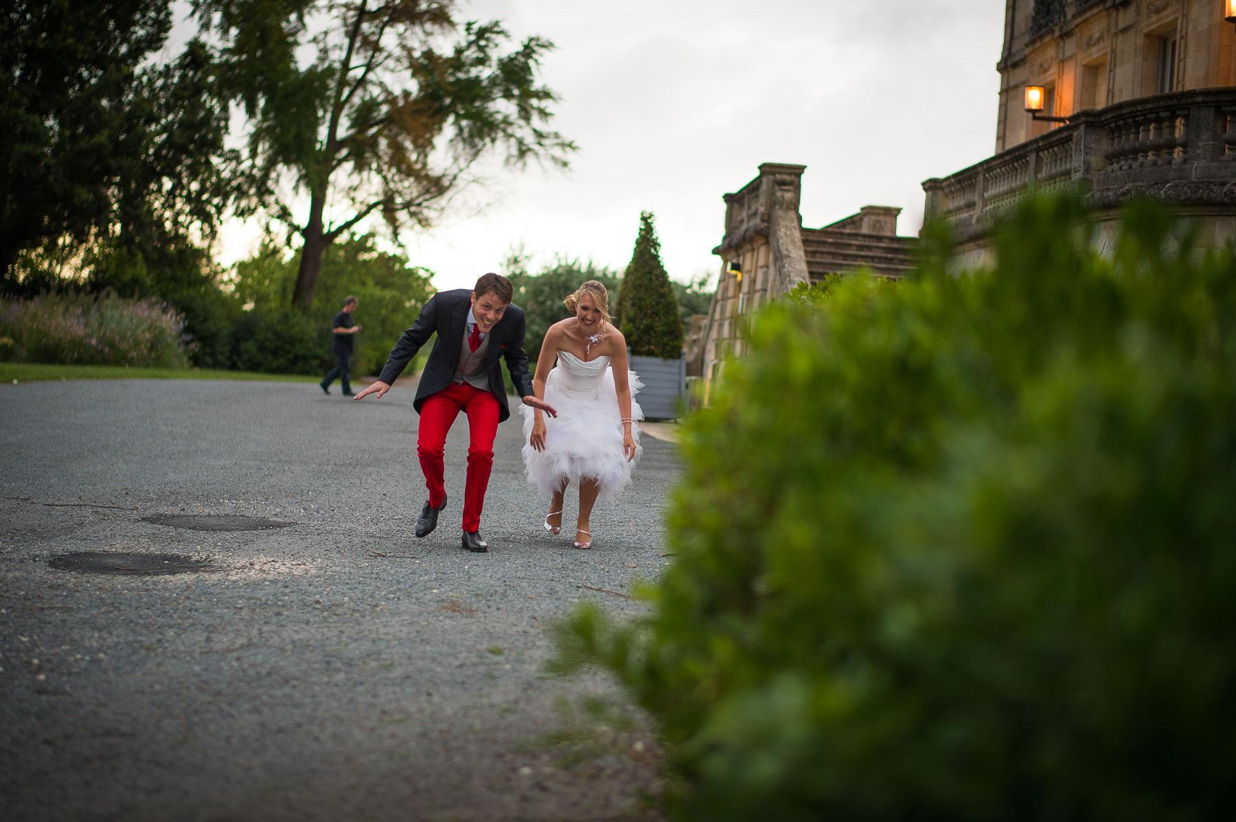 Surprise des mariés