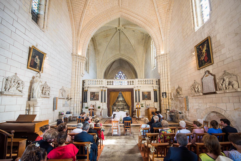 Intérieur église Bassac