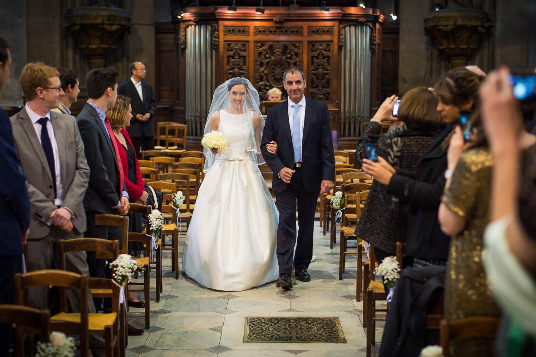 Entrée mariée Saint-Sulpice