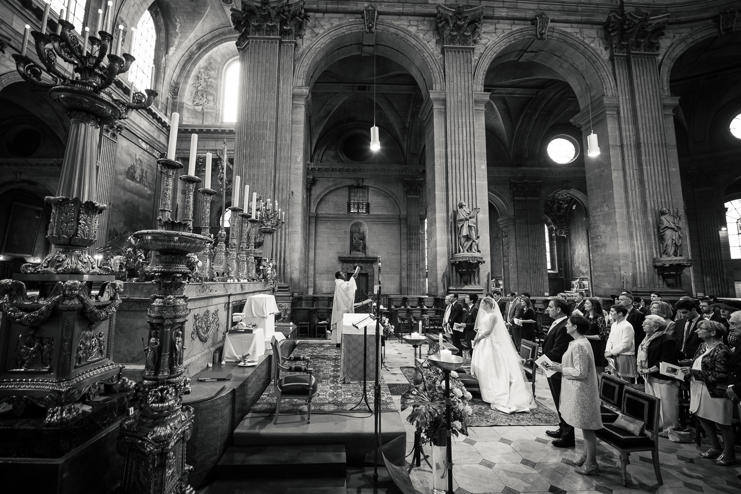 Mariage Saint-Sulpice